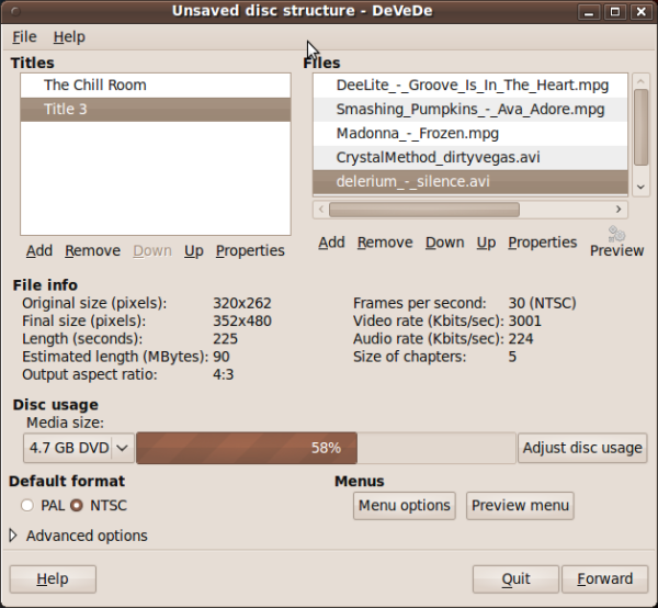 How to burn cd/dvd linux which is playable in dvd player.